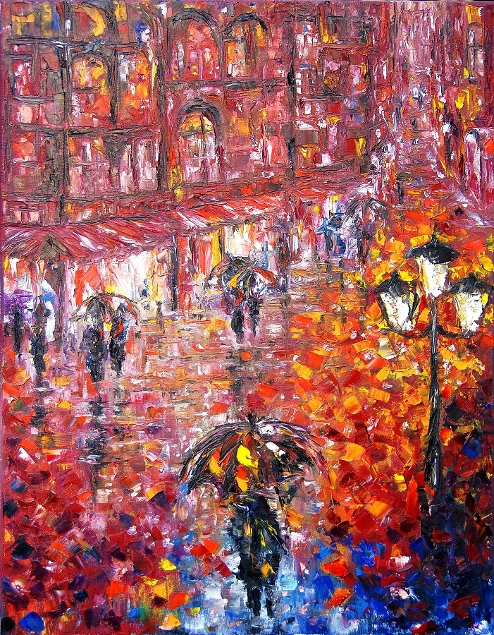 Parisian Umbrellas