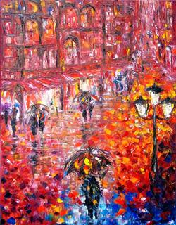 Parisian Umbrellas