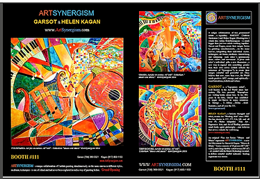 ArtSynergism by Garsot & Helen Kagan | Unique Fine & Decorative Art