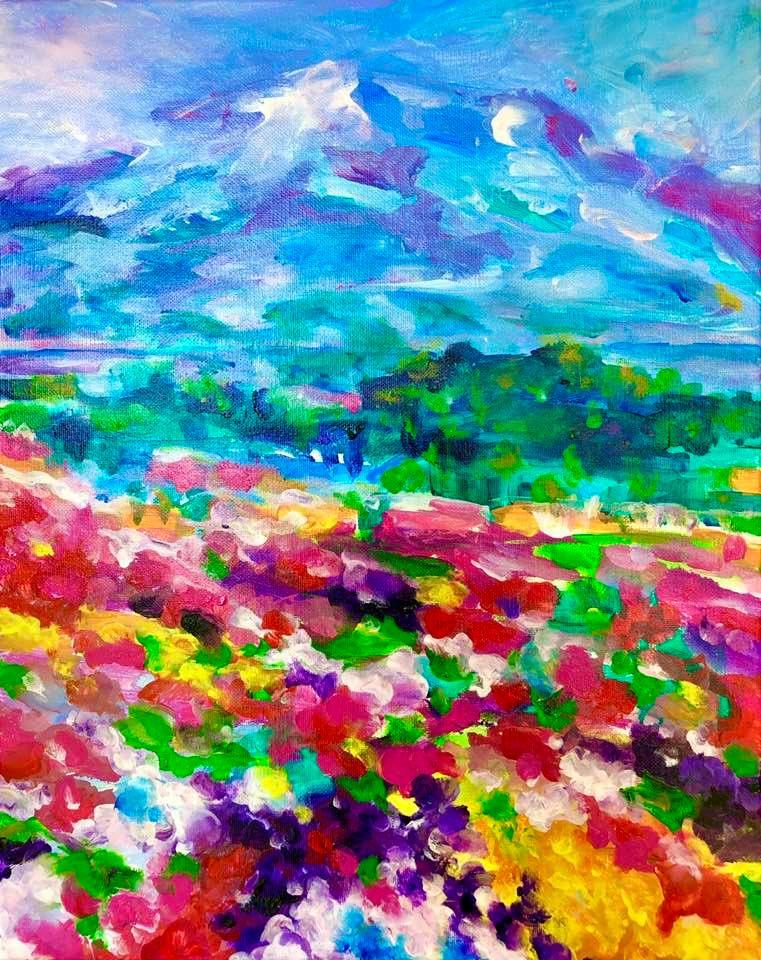 Fields of Wild Flowers