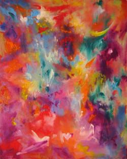 Colorscape #2. Colors of My Dream. 20x16