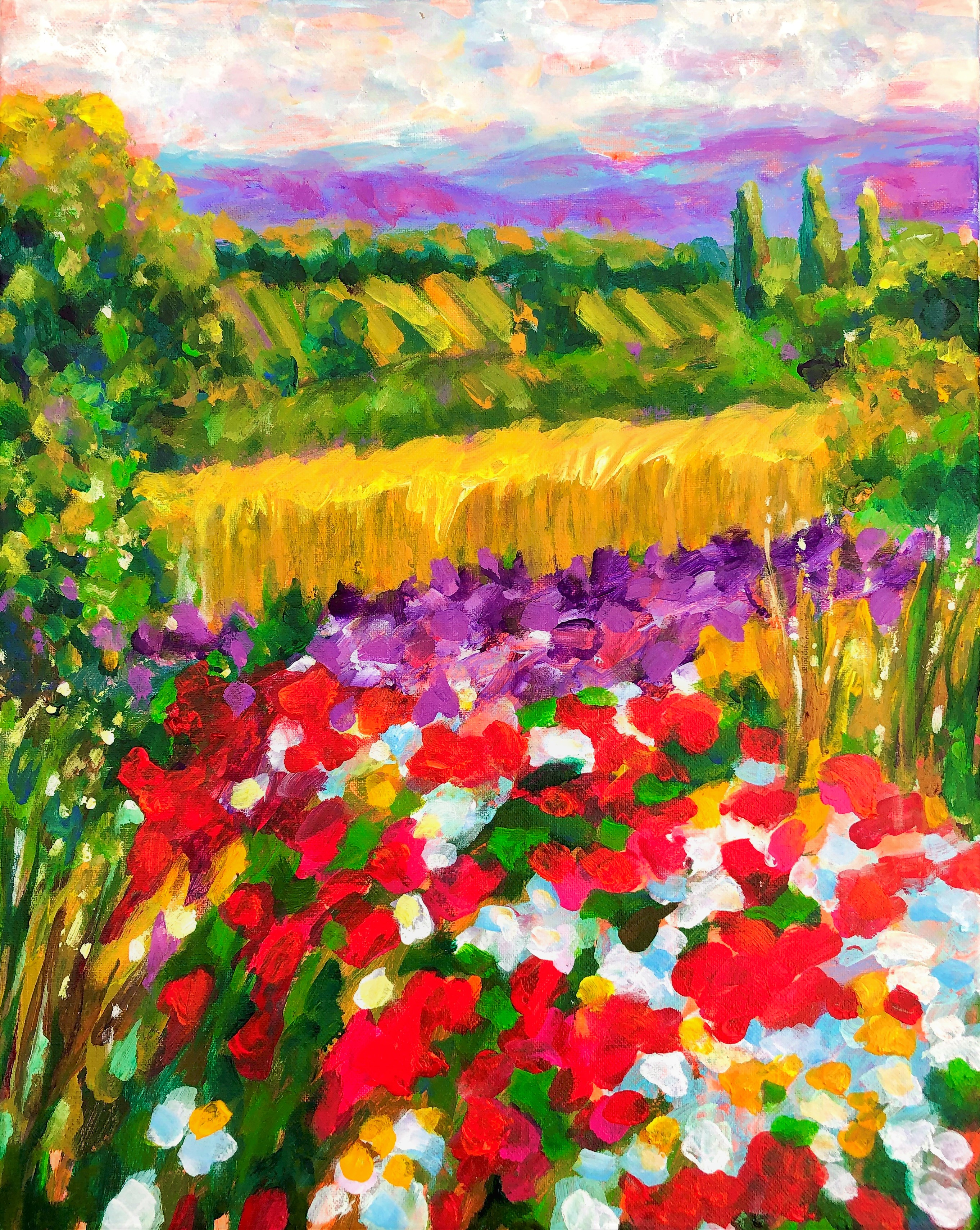 Colorful Heaven. Series Serenity