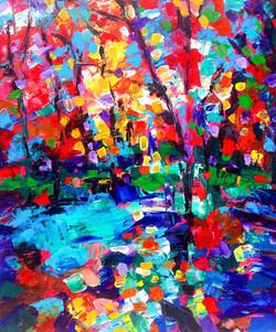 Composition #2. Secret Pond. Series Moods
