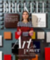 """Helen Kagan - featured """"Collectible Artist"""" (Curated """"Deaaler's Dozen) by Brickell Magazine. Dec 2016"""