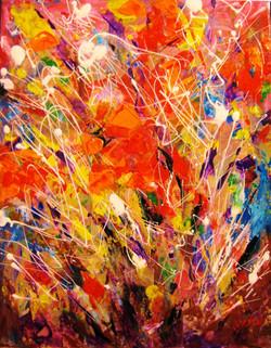 Colorscape#15. Poppies