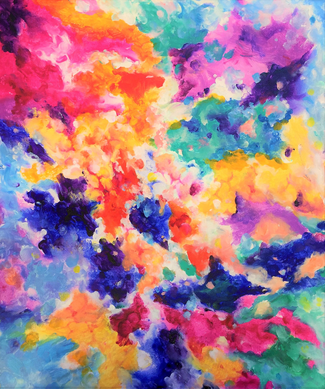 Composition #3. Cosmic Garden