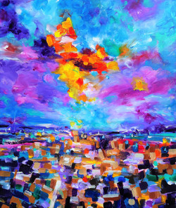 A Radiant Cloud. Series Moods