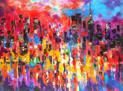 Glorious Reflections. Series New York, New York