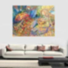 """""""Endless Hope"""". Garsot Art in Interior.jpg"""