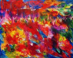 ColorScape #3.Mountain Village 16x20