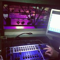Programando luces _la música de la Navid