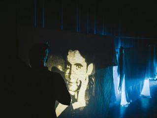 """Jorge Velasco dirige y escribe """"Carta al Poeta"""" para Calle Es-Cultura. Fotografía David Ro"""