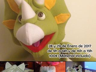 Taller de construcción de marionetas en Imaginate Frama