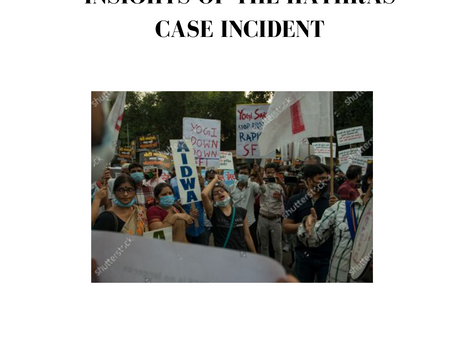 INSIGHTS OF THE HATHRAS CASE INCIDENT