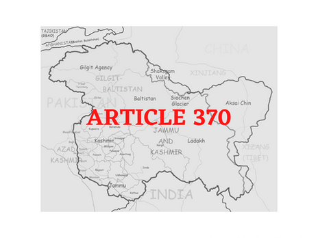 ANALYSIS OF THE ABOLITION OF ARTICLE 370 OF THE CONSTITUITION