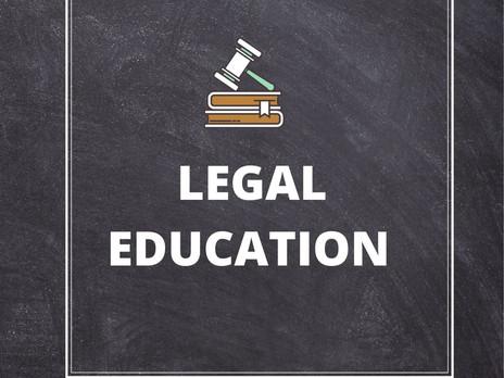 LEGAL EDUCATION IN SCHOOL