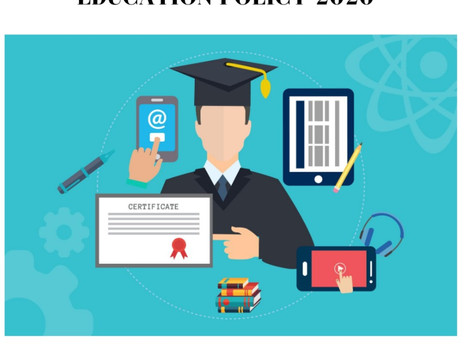 ALL YOU NEED TO KNOW ABOUT NEW EDUCATION POLICY 2020