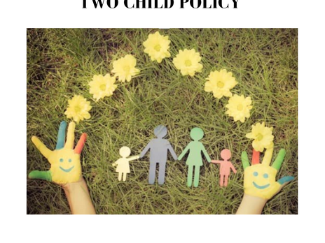 TWO CHILD POLICY