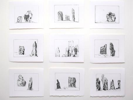 Calanais Standing Stones Print Series, 2019