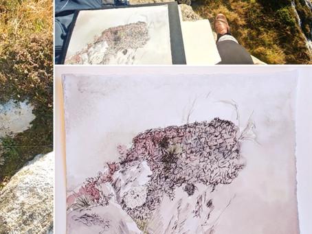 Sketching In Situ - Isle of Iona, 2019