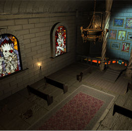 Oculabyrinth Audio Room Puzzle Screenshot