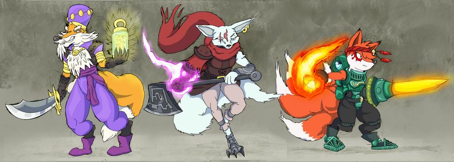 Fantasy Fox Trio