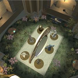 Oculabyrinth Statue Room Puzzle Screenshot