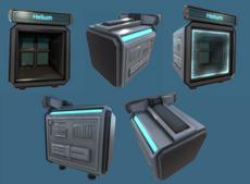 Futuristic Container