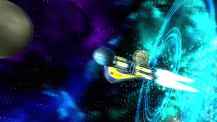 Spaceship Hyper Thrusters Effect