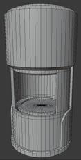 Dispenser Machine Wireframe
