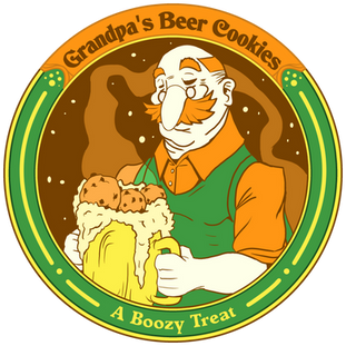 Vector Beer Cookie Icon