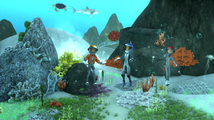 Underwater environment made for Stardust Mystery videos. Set up terrain and assets, and created VFXs for the scene. Additional set up animations for particular shot.