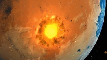 Meteor Crashing Effect