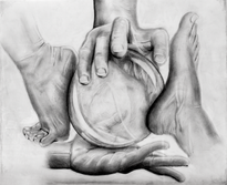Abstract of Hands and Feet