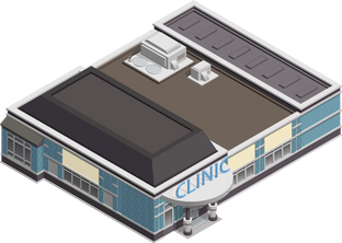 Isometric Vector Building