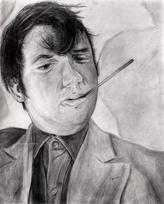 """Long Day"" Self-Portrait"