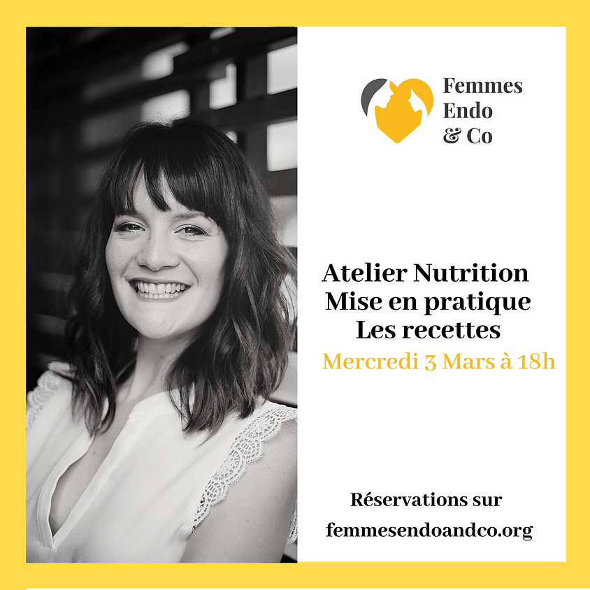 Atelier nutrition: Les recettes