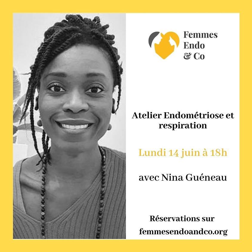 Atelier Endométriose et respiration avec Nina Guéneau