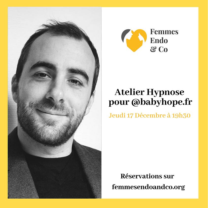 Atelier Hypnose pour le @babyhope.fr