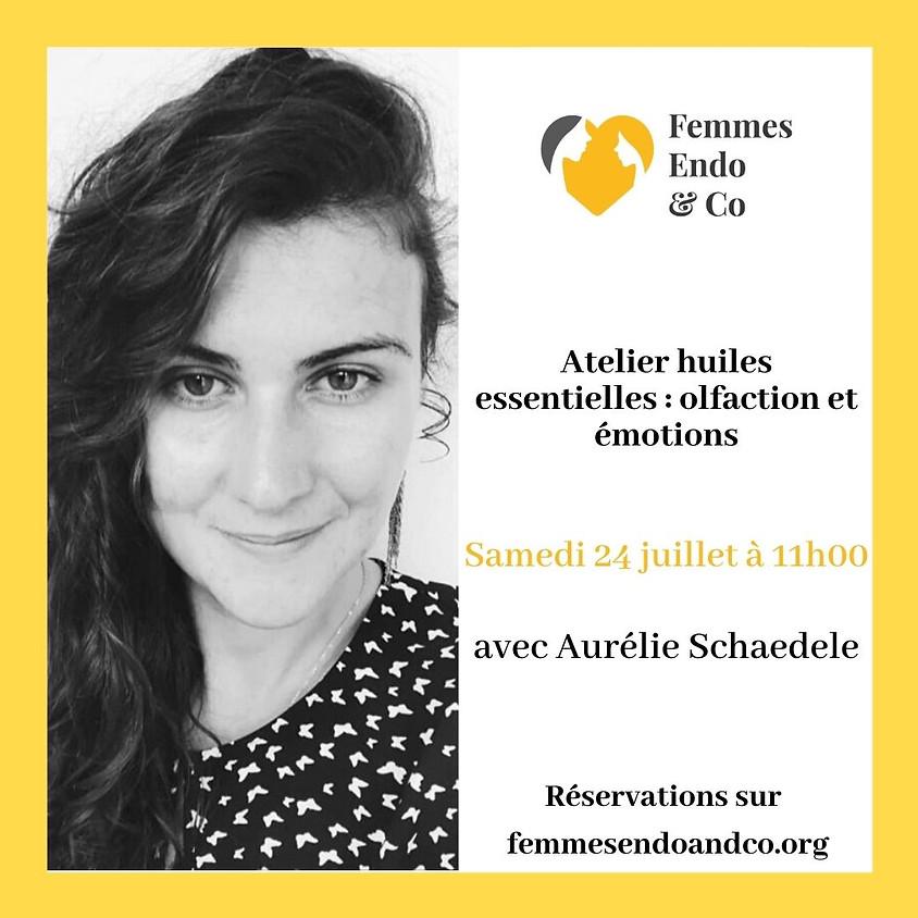 Atelier Huiles essentielles : olfaction et émotions avec Aurélie