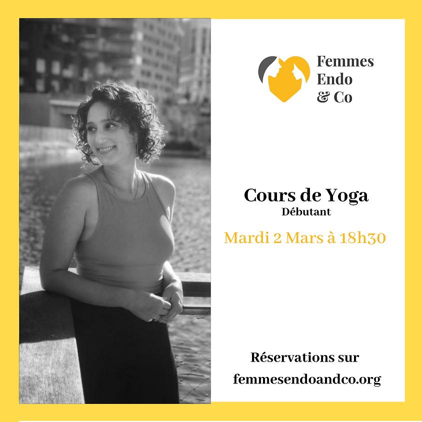 Cours de Yoga-Débutant