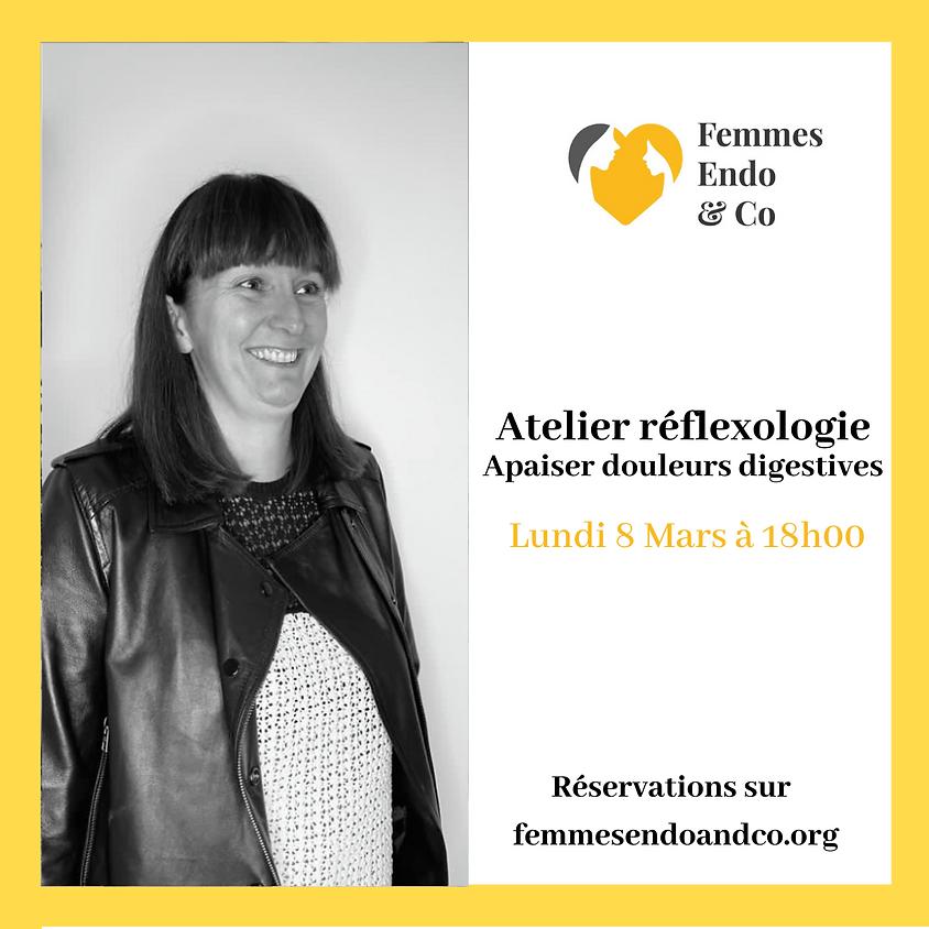 Atelier Réflexologie - Apaiser douleurs digestives