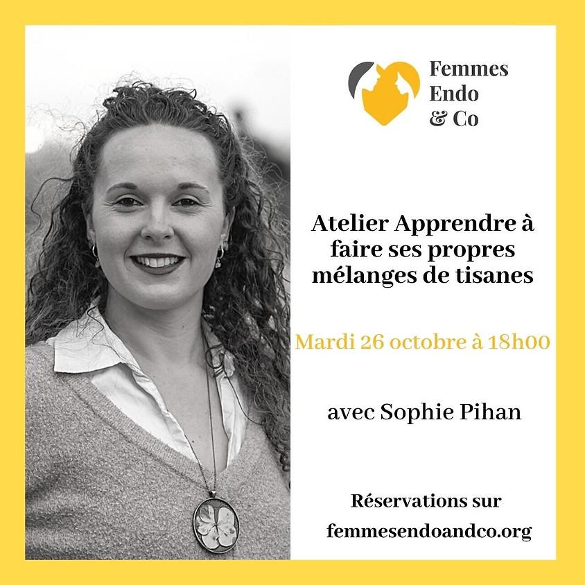 Atelier Apprendre à faire ses propres mélanges de tisanes avec Sophie Pihan