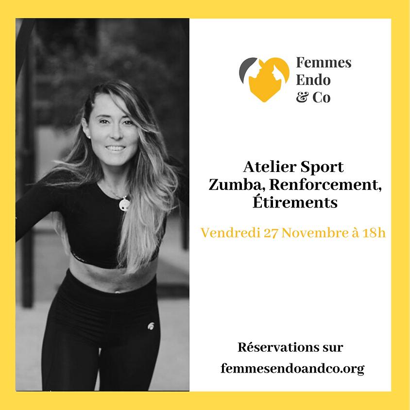 Atelier Sport - Zumba, Renforcement, Étirements