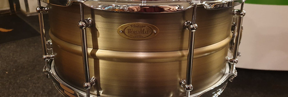 World Max 14x6.5 Antique Brushed Brass