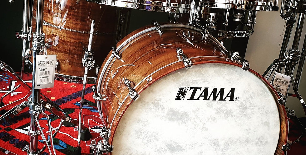 Tama Star Bubinga in Natural Indian Laurel
