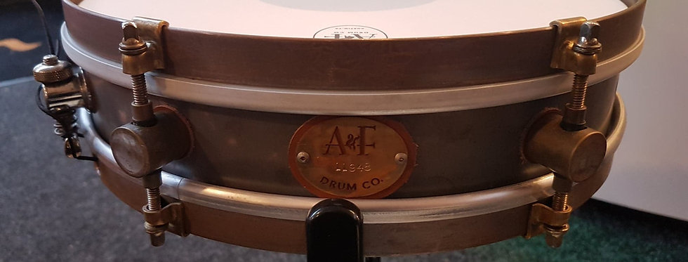 A&F Drum Co. 13x3 Raw Steel