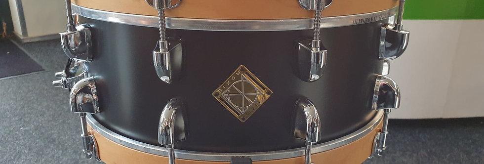 Dixon 14x5.5 Classic Maple in Satin Black