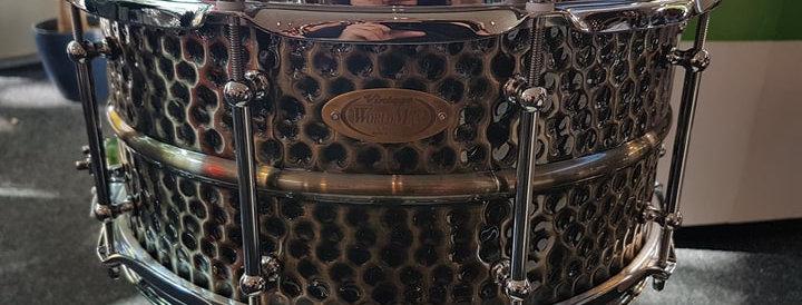 World Max 14x6.5 Hammered Brass
