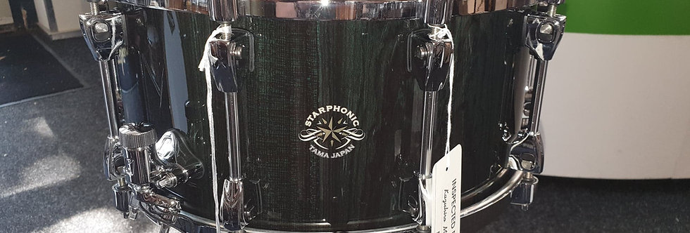 Tama Starphonic Bubinga 14x7 Dark Green Cordia RDD Special Edition